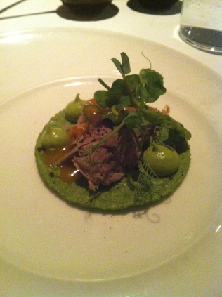 The menu was filled with new twists on classic cuisine