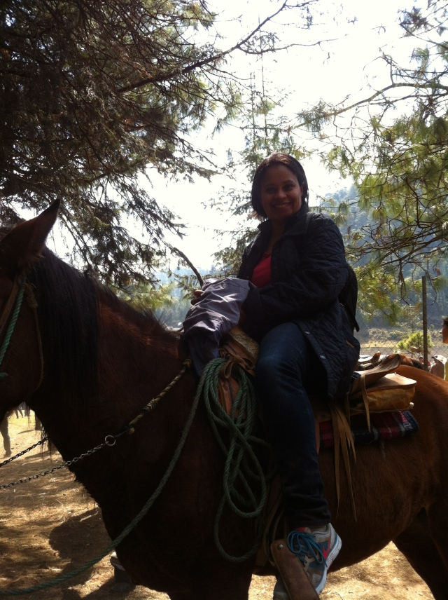 This Girl Scout can ride! I've got the badge to prove it!