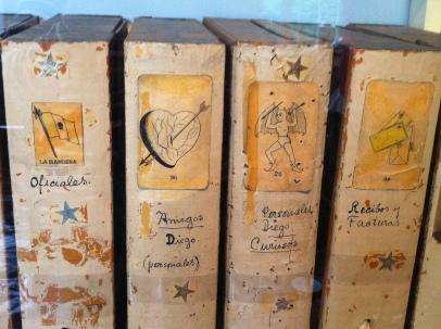Books on their shelf