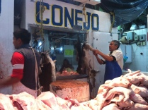 In the morning, the only sound was of knives chopping meat