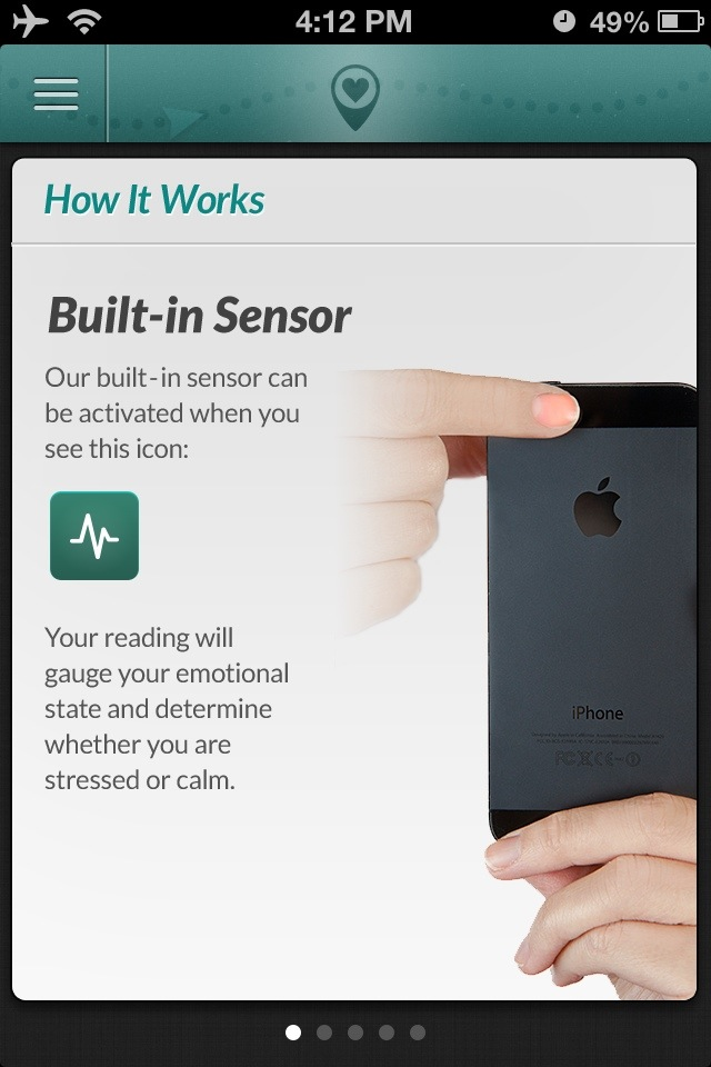 HuffPost GPS4Soul iPhone Sensor