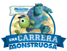 CARRERA MONSTRUOSA DISNEY-PIXAR